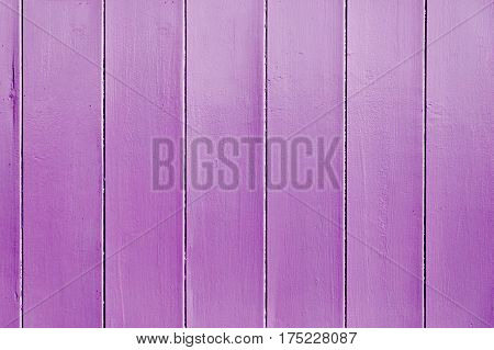 Violet painted wooden wall useful as background
