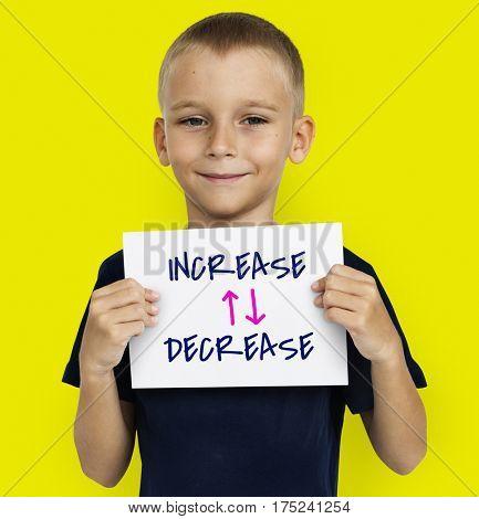 Increase Decrease Concept