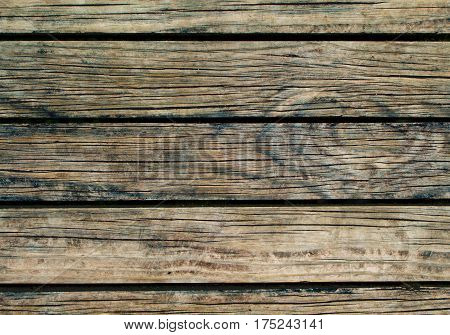 Natural wood background. Natural wood texture with horizontal lines. Wooden background for banner. Timber texture closeup. Horizontal wooden planks of floor backdrop photo. Natural material for banner
