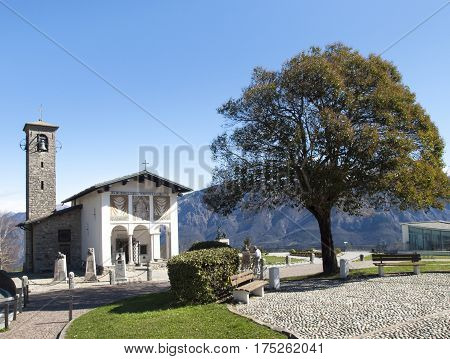 Sanctuary Of The Madonna Del Ghisallo
