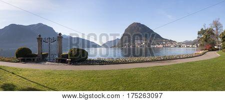 Lugano, Parco Ciani, Famous Gate