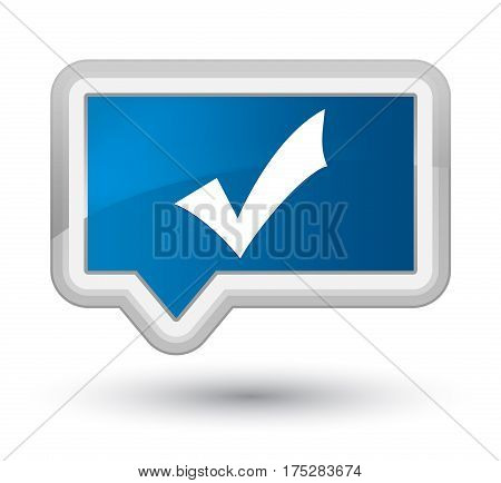 Validation Icon Prime Blue Banner Button
