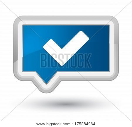Validate Icon Prime Blue Banner Button