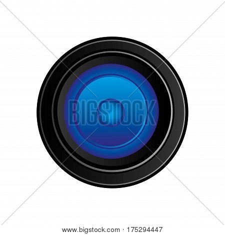 back camera lense icon, vector illustraction design image