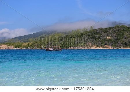 Beach Of Farol In The City Of Arraial Do Cabo  - Brazil