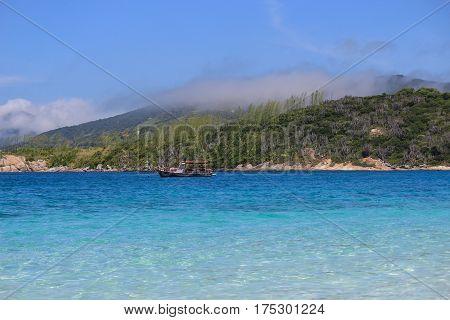 Beach Of Farol In The City Of Arraial Do Cabo  - Brazil