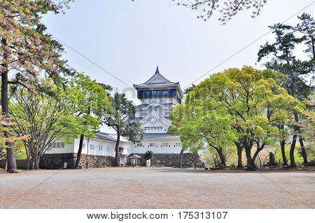 Kokura Castle is a Japanese castle in Kitakyushu, in Fukuoka Prefecture, Japan. Kokura Castle was built by Hosokawa Tadaoki in 1602. The castle was burnt down in 1866 and was fully restored in 1990.