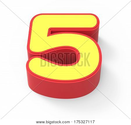 Yellow Number 5
