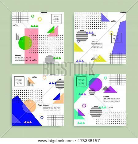 Abstract Geometric Card Set