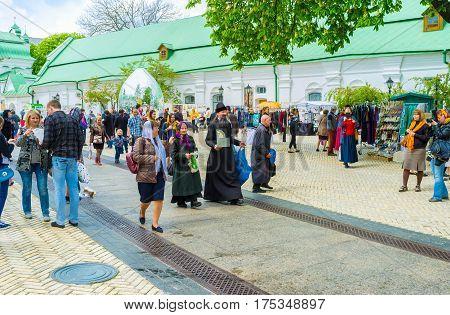 Easter Fair In Kiev Pechersk Lavra