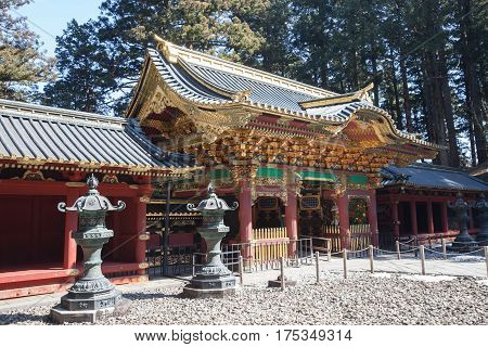 Nikko Toshogu Shrine in Nikko