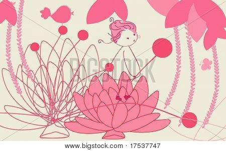 waterlilly oriental jungle