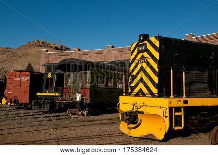 Yellow Locomotive