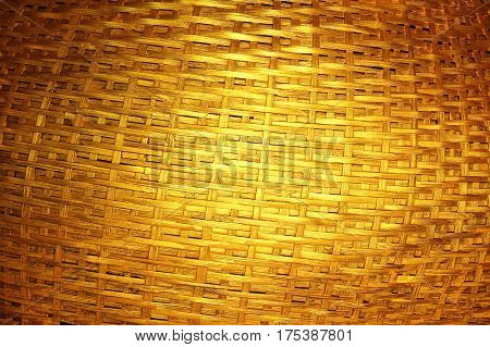 Woven dark gold background for beautiful design