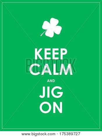 Keep Calm Banner For St. Patrick's Day
