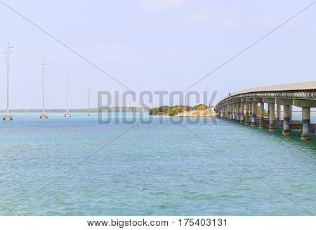 The Overseas Highway In Florida