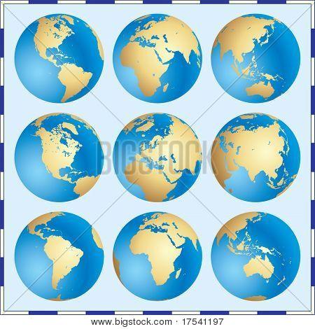 Raster version of vector Global Set