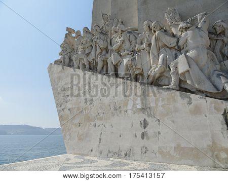 Padrão dos Descobrimentos - Monument in Lisbon, Portugal