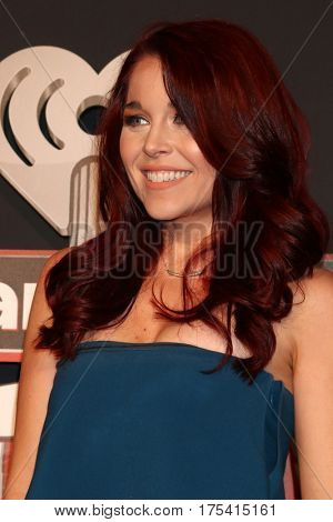 LOS ANGELES - MAR 5:  Erin Robinson at the 2017 iHeart Music Awards at Forum on March 5, 2017 in Los Angeles, CA