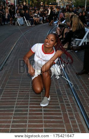 LOS ANGELES - FEB 4:  Keke Palmer at the Rebecca Minkoff's