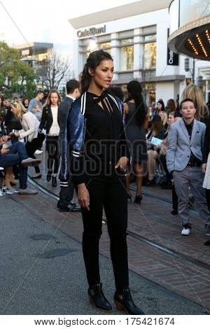 LOS ANGELES - FEB 4:  Janina Gavankar at the Rebecca Minkoff's