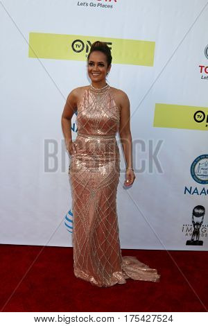 LOS ANGELES - FEB 11:  Tammy Townsend at the 48th NAACP Image Awards Arrivals at Pasadena Conference Center on February 11, 2017 in Pasadena, CA