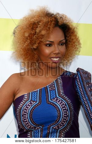 LOS ANGELES - FEB 11:  Jamilah Lemieux at the 48th NAACP Image Awards Arrivals at Pasadena Conference Center on February 11, 2017 in Pasadena, CA
