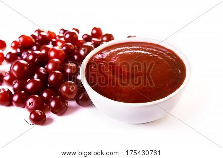 Cranberry Sauce And Berries