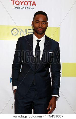LOS ANGELES - FEB 11:  Jay Ellis at the 48th NAACP Image Awards Arrivals at Pasadena Conference Center on February 11, 2017 in Pasadena, CA