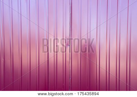 the background and texture of the metal slate red