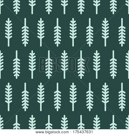 Abstract leaf wallpaper on dark green background
