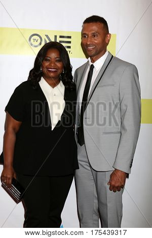 LOS ANGELES - FEB 11:  Octavia Spencer, Guest at the 48th NAACP Image Awards Arrivals at Pasadena Conference Center on February 11, 2017 in Pasadena, CA