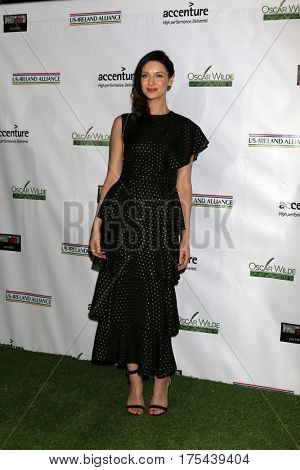 LOS ANGELES - FEB 23:  Caitriona Balfe at the 12th Annual Oscar Wilde Awards at Bad Robot Studios on February 23, 2017 in Santa Monica, CA