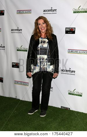 LOS ANGELES - FEB 23:  Phyllis Logan at the 12th Annual Oscar Wilde Awards at Bad Robot Studios on February 23, 2017 in Santa Monica, CA