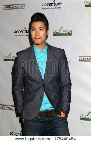 LOS ANGELES - FEB 23:  Christopher Naoki Lee at the 12th Annual Oscar Wilde Awards at Bad Robot Studios on February 23, 2017 in Santa Monica, CA