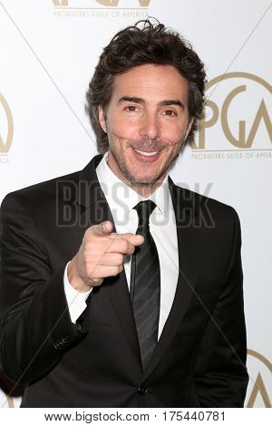 LOS ANGELES - JAN 28:  Shawn Levy at the 2017 Producers Guild Awards  at Beverly Hilton Hotel on January 28, 2017 in Beverly Hills, CA