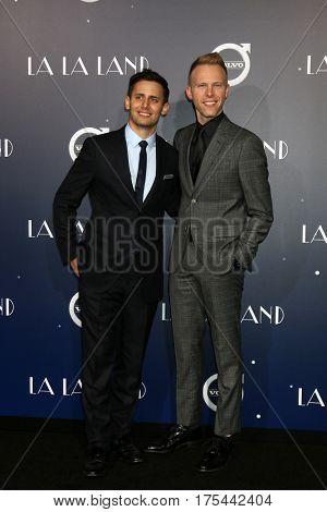 LOS ANGELES - DEC 6:  Benj Pasek, Justin Paul at the