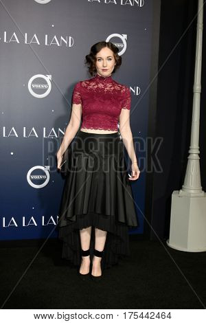 LOS ANGELES - DEC 6:  Anna Chazelle at the