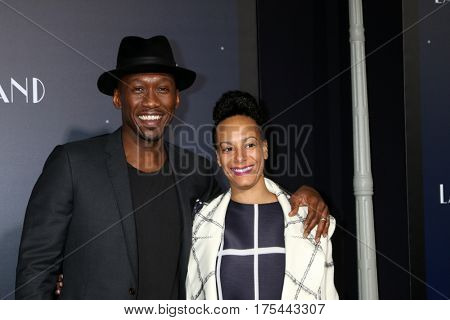 LOS ANGELES - DEC 6:  Mahershala Ali, Amatus Ali at the