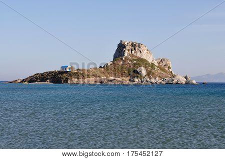 church Kastri on island Kos in Greece