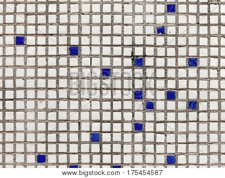 Abstract Decorative Background, Element For Design. Venetian Ceramic Mosaic. Fine Facing Ceramic Til