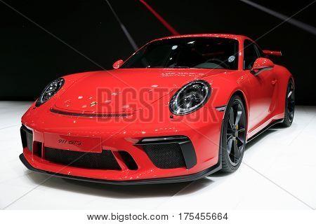 2018 Porsche 911 Gt3 Sports Car