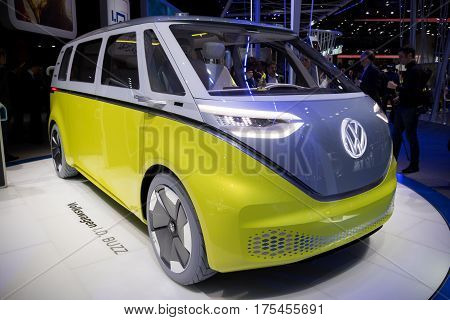 New Electric Volkswagen I.d. Buzz Van