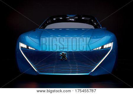 Peugeot Instinct Autonomous Car