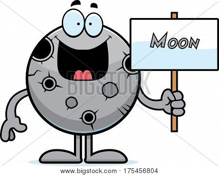 Cartoon Moon Sign