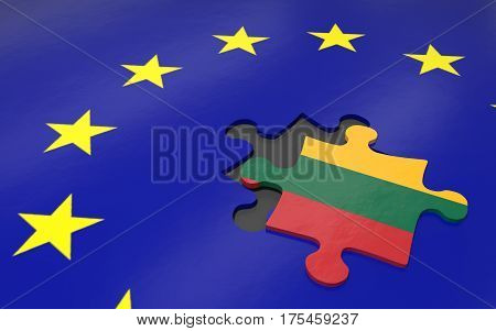 Lithuania And Eu