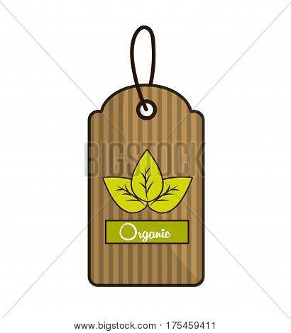 emblem natural food icon stock, vector illustration design image