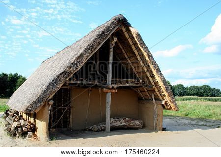 Prehistoric Farmhoude In Borger