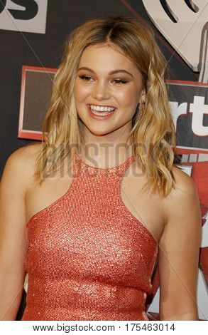 Olivia Holt at the 2017 iHeartRadio Music Awards held at the Forum in Inglewood, USA on March 5, 2017
