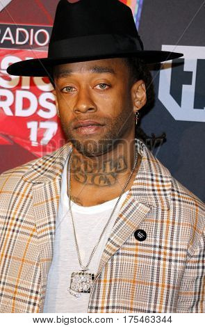 Ty Dolla Sign at the 2017 iHeartRadio Music Awards held at the Forum in Inglewood, USA on March 5, 2017.